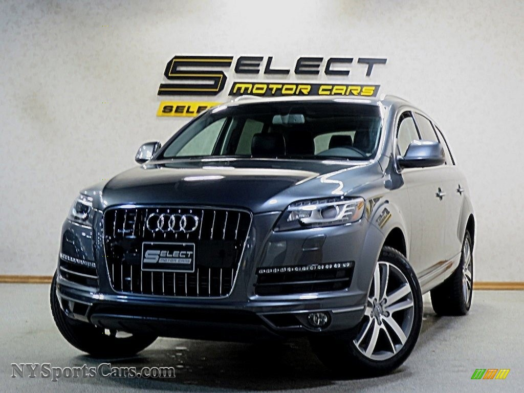 2015 Q7 3.0 Premium Plus quattro - Graphite Gray Metallic / Black photo #1
