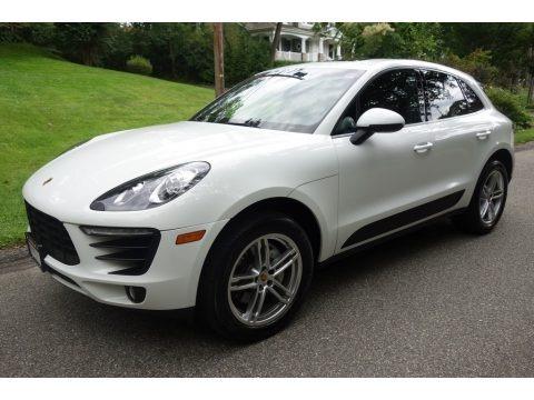 White 2015 Porsche Macan S