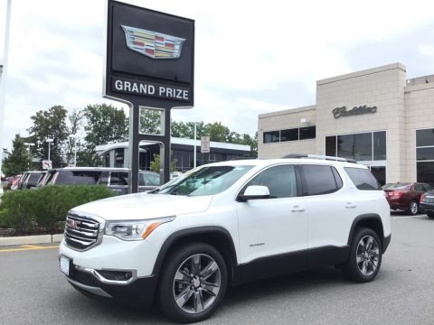 Summit White 2017 GMC Acadia SLT AWD
