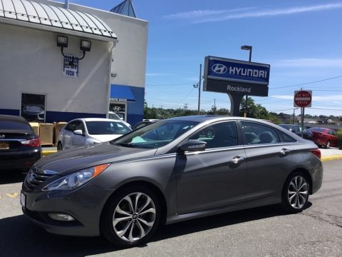 Harbor Gray Metallic 2014 Hyundai Sonata SE