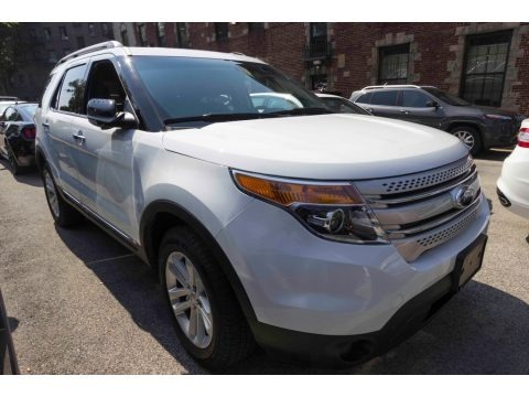 Oxford White 2015 Ford Explorer XLT 4WD