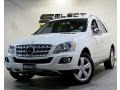 Mercedes-Benz ML 350 4Matic Arctic White photo #1