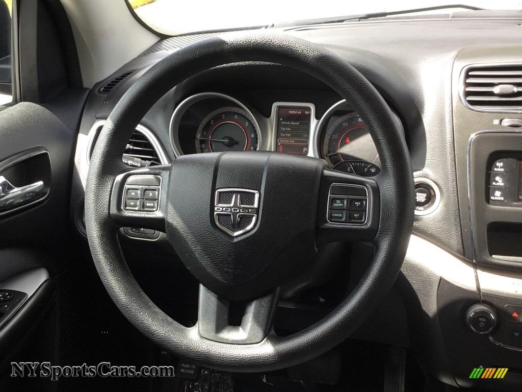 2017 Journey SXT AWD - Contusion Blue / Black photo #9