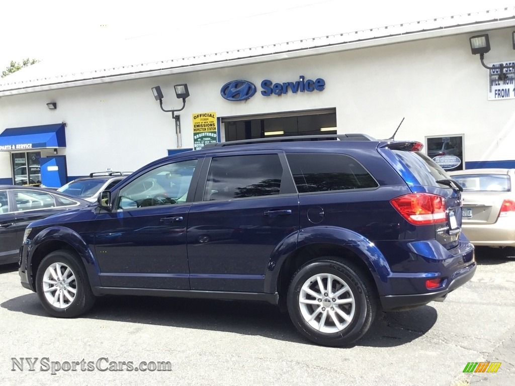 2017 Journey SXT AWD - Contusion Blue / Black photo #23