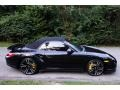 Porsche 911 Turbo S Cabriolet Basalt Black Metallic photo #7