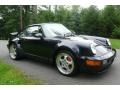 Porsche 911 Turbo 3.6 S Midnight Blue Metallic photo #8