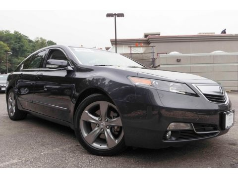 Graphite Luster Metallic 2013 Acura TL SH-AWD Technology