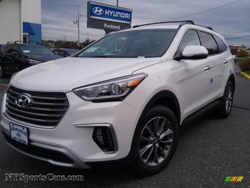2018 Santa Fe SE - Monaco White / Black photo #1