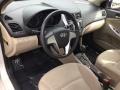 Hyundai Accent SE Sedan Misty Beige photo #9