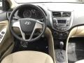 Hyundai Accent SE Sedan Misty Beige photo #12