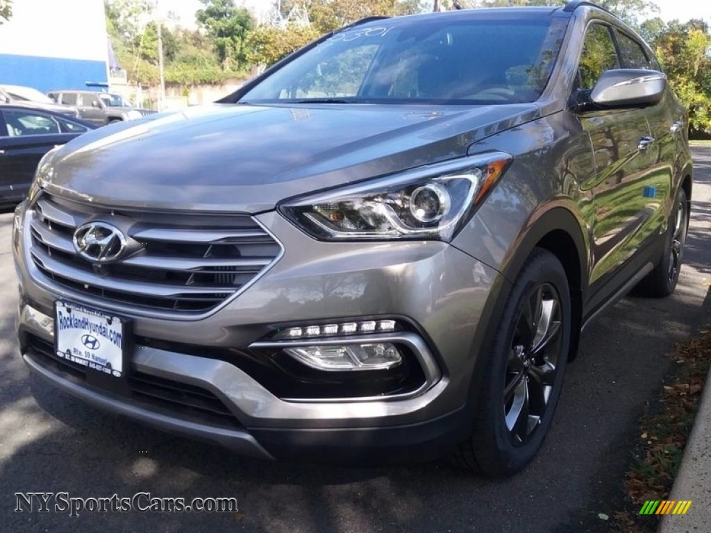 2018 Santa Fe Sport 2.0T AWD - Gray / Gray photo #1