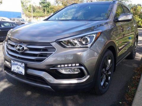 Gray 2018 Hyundai Santa Fe Sport 2.0T AWD