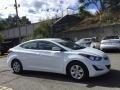 Hyundai Elantra SE White photo #3
