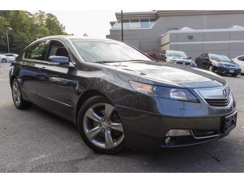 Graphite Luster Metallic 2012 Acura TL 3.7 SH-AWD Technology