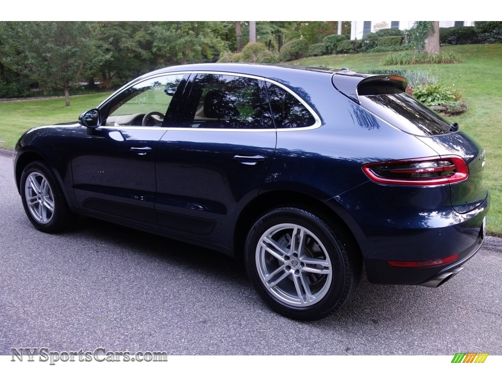 2015 Macan S - Dark Blue Metallic / Luxor Beige photo #4