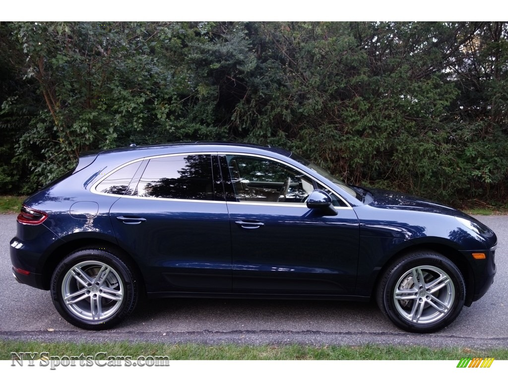 2015 Macan S - Dark Blue Metallic / Luxor Beige photo #7