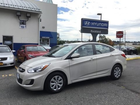 Ironman Silver 2016 Hyundai Accent SE Sedan