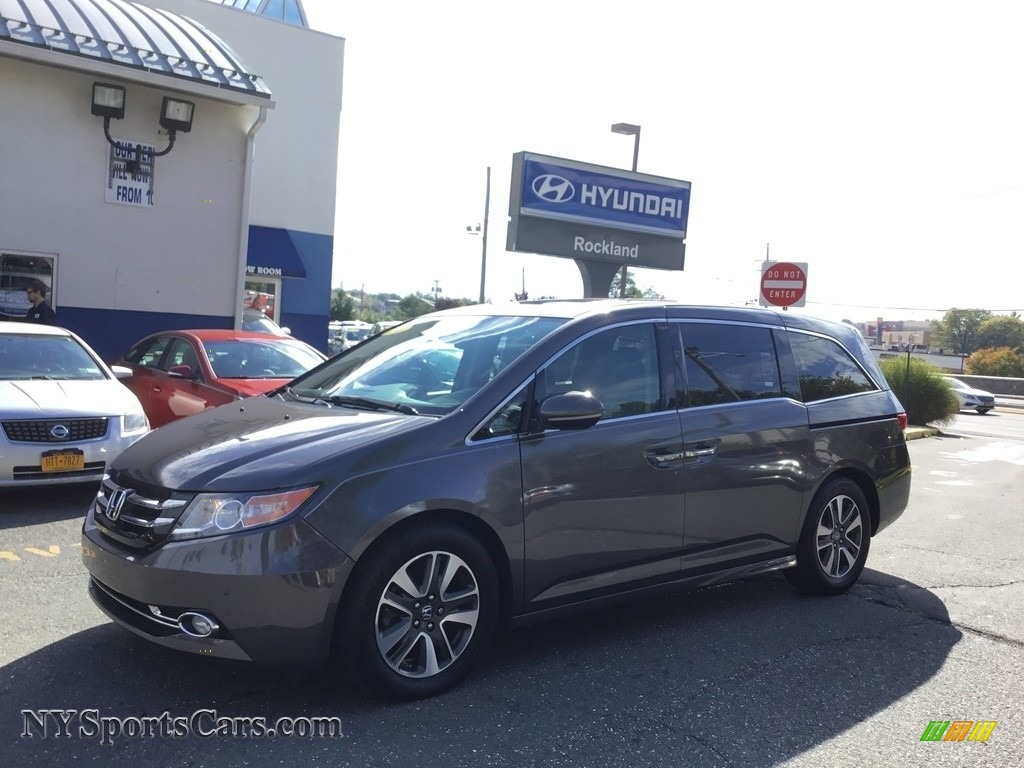 2015 Odyssey Touring Elite - Smoky Topaz Metallic / Truffle photo #1