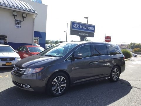 Smoky Topaz Metallic 2015 Honda Odyssey Touring Elite