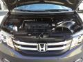 Honda Odyssey Touring Elite Smoky Topaz Metallic photo #29