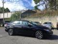 Honda Civic EX-L Sedan Crystal Black Pearl photo #3