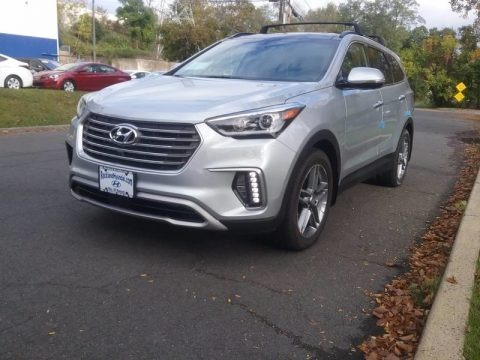 Circuit Silver 2018 Hyundai Santa Fe SE Ultimate AWD