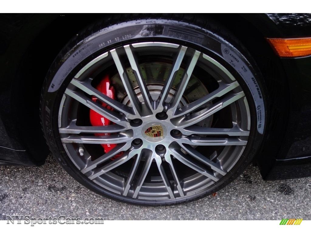 2015 911 Turbo Cabriolet - Black / Black photo #10