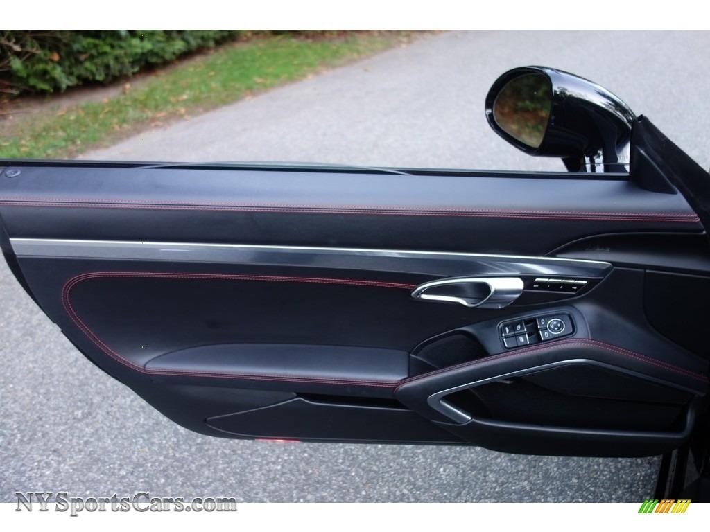 2015 911 Turbo Cabriolet - Black / Black photo #12