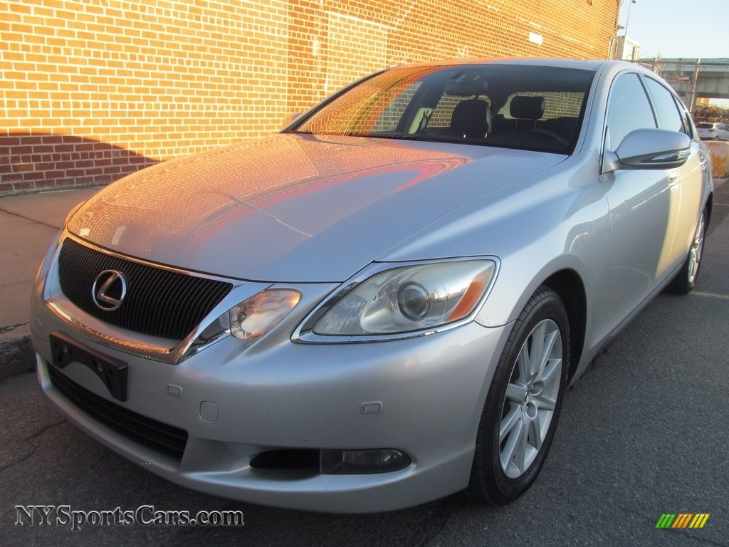 2008 GS 350 AWD - Mercury Metallic / Black photo #1