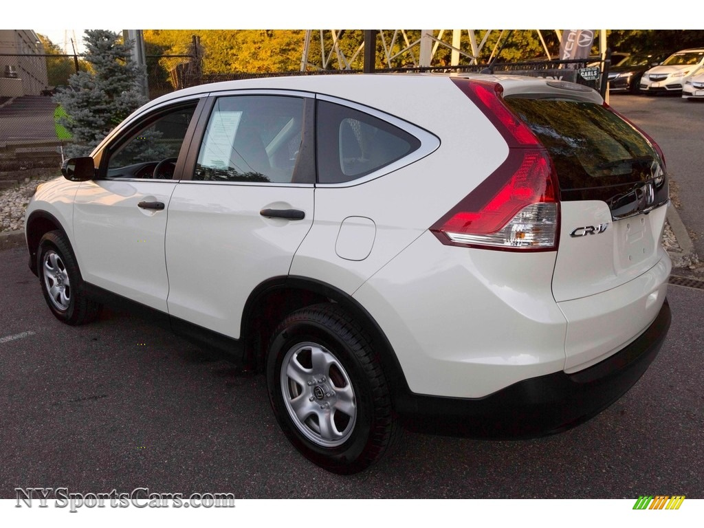 2014 CR-V LX AWD - White Diamond Pearl / Gray photo #6