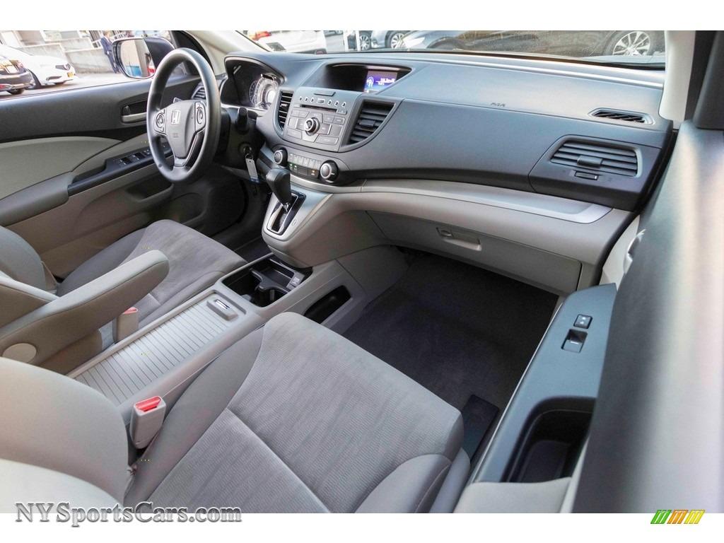 2014 CR-V LX AWD - White Diamond Pearl / Gray photo #11