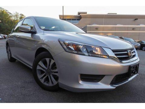 Alabaster Silver Metallic 2015 Honda Accord LX Sedan