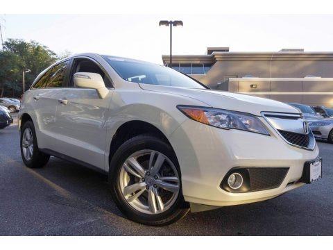 White Diamond Pearl 2015 Acura RDX Technology