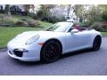 Porsche 911 Carrera 4S Cabriolet Carrara White Metallic photo #1