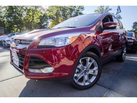 Ruby Red Metallic 2015 Ford Escape Titanium 4WD
