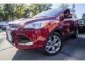 Ford Escape Titanium 4WD Ruby Red Metallic photo #1