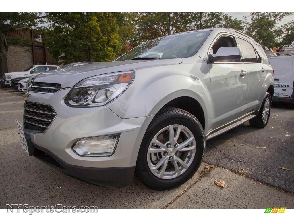 2016 Equinox LT AWD - Silver Ice Metallic / Jet Black photo #1