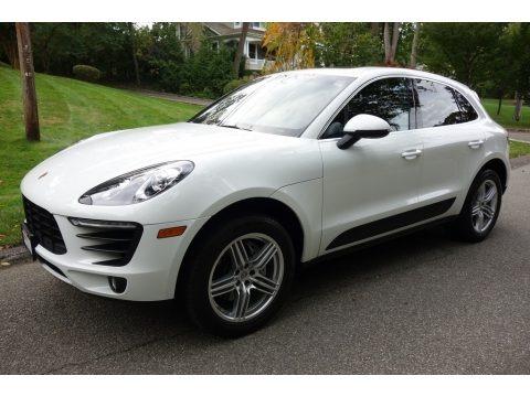 White 2016 Porsche Macan S