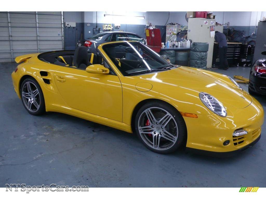 2009 Porsche 911 Turbo Cabriolet in Sd Yellow - 773586 ...
