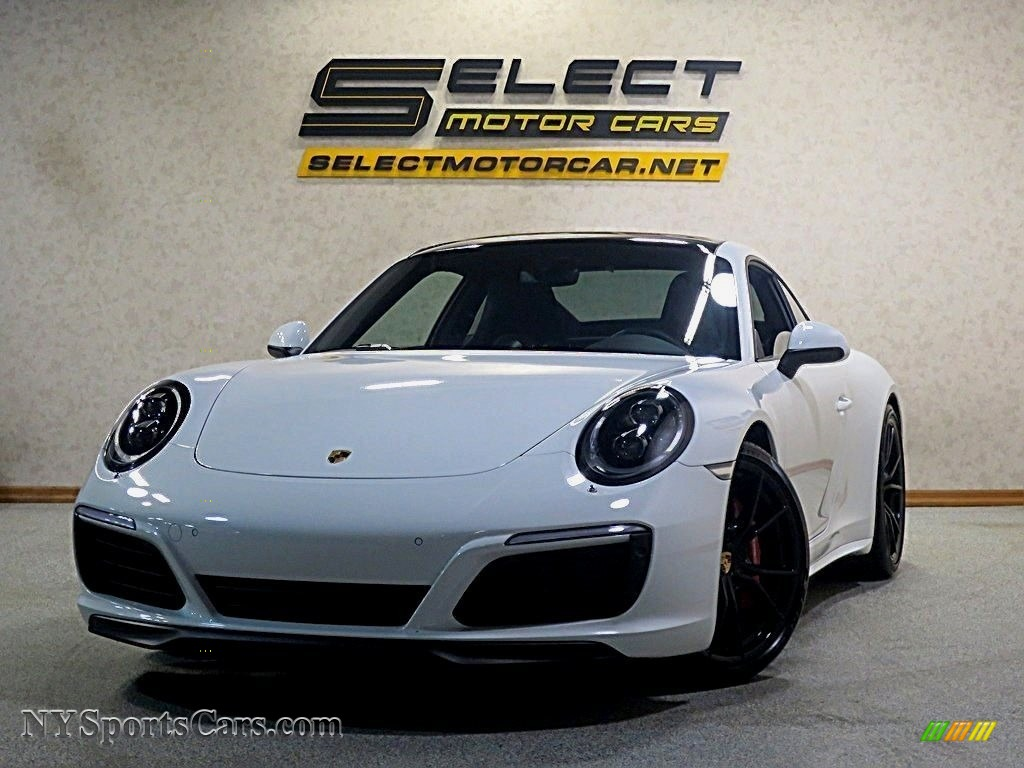 2017 911 Carrera 4S Coupe - Carrara White Metallic / Black photo #1