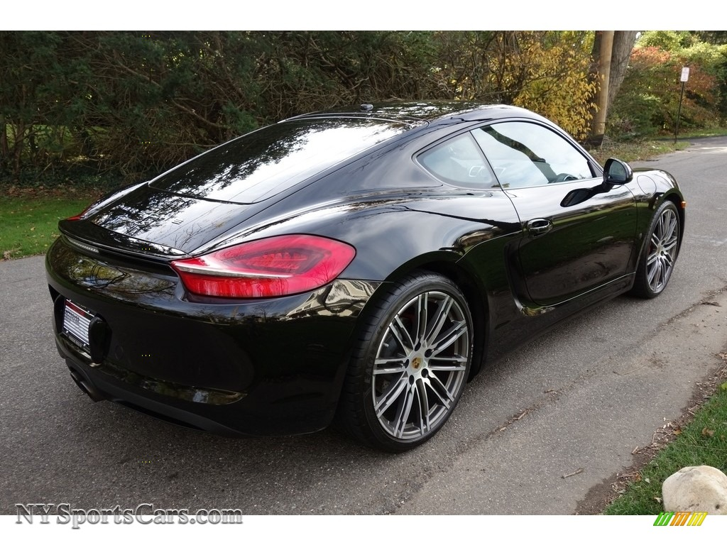 2015 Cayman S - Black / Black photo #6