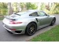 Porsche 911 Turbo S Coupe GT Silver Metallic photo #6