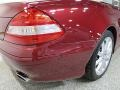 Mercedes-Benz SL 550 Roadster Storm Red Metallic photo #12