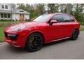 Porsche Cayenne Turbo S Carmine Red photo #1