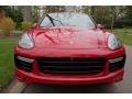 Porsche Cayenne Turbo S Carmine Red photo #2