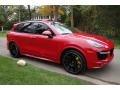 Porsche Cayenne Turbo S Carmine Red photo #8