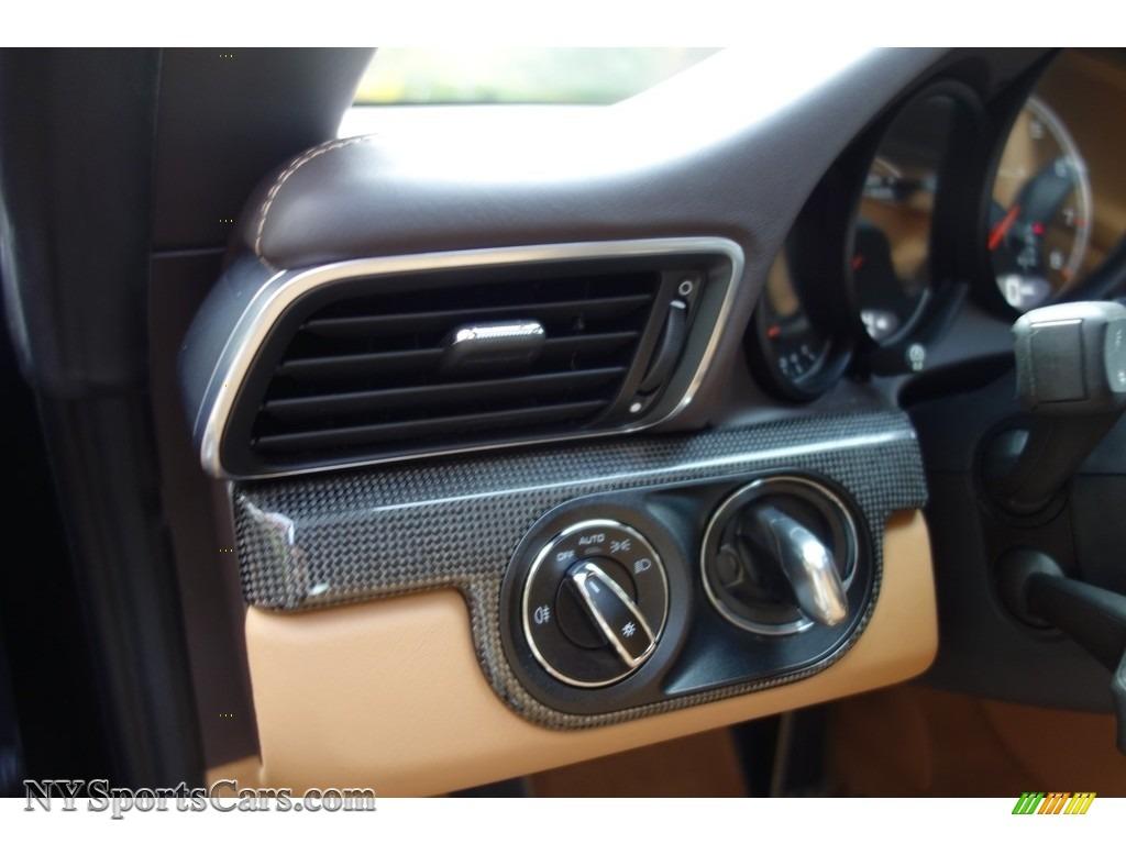 2015 911 Turbo S Cabriolet - Basalt Black Metallic / Espresso/Cognac Natural Leather photo #20