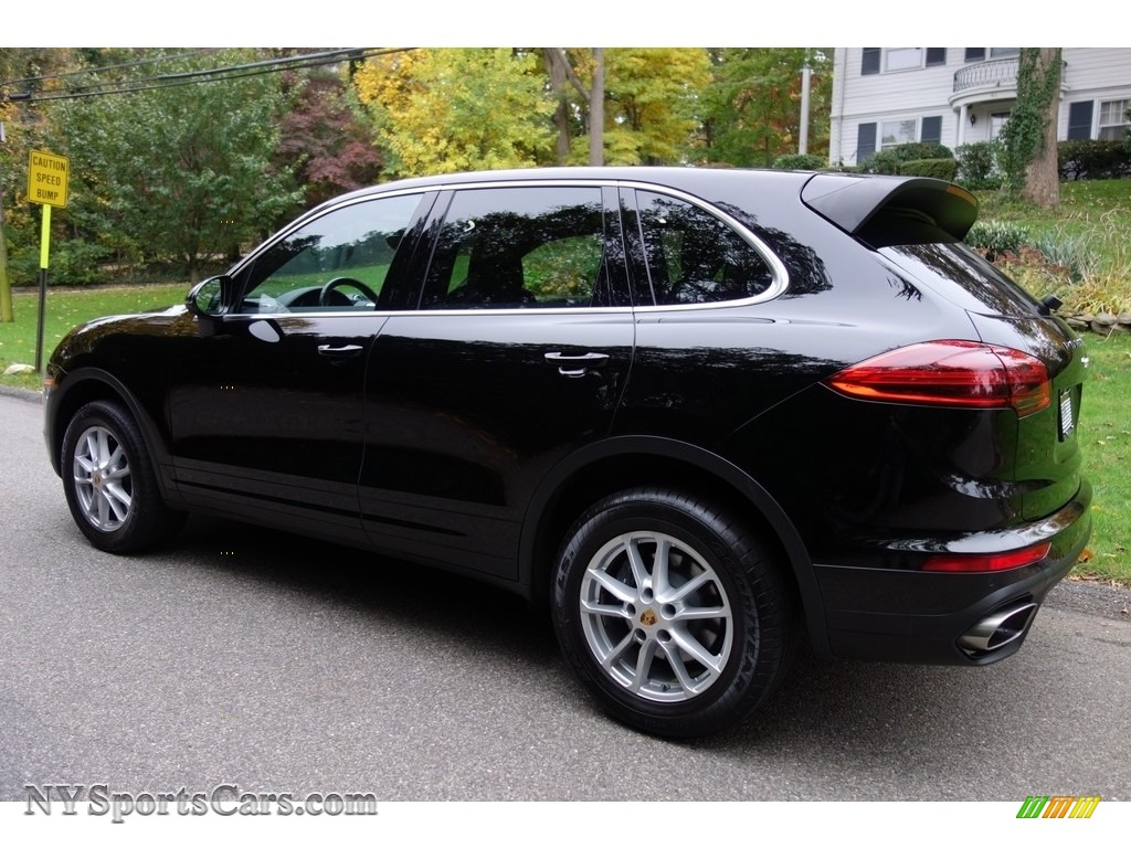 2016 Cayenne  - Black / Black/Luxor Beige photo #4