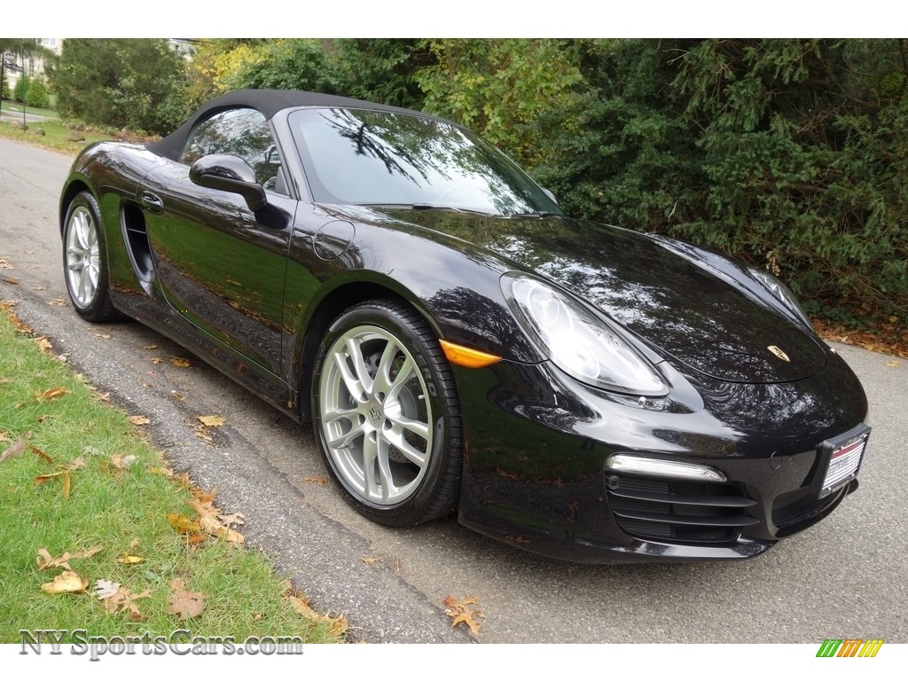2015 Boxster  - Jet Black Metallic / Black photo #8