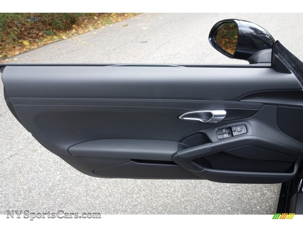 2015 Boxster  - Jet Black Metallic / Black photo #11